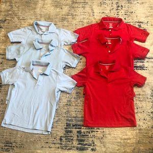 Boys French Toast uniform polo shirts.